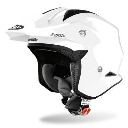 KASK AIROH TRR S COLOR WHITE GLOSS L