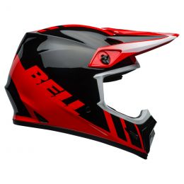 KASK BELL MX-9 MIPS DASH RED/BLACK L