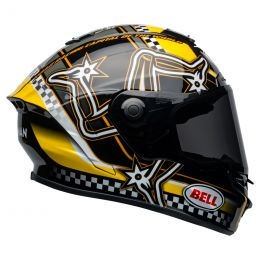KASK BELL STAR DLX MIPS ISLE OF MAN BLACK/YELLOW S