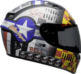 KASK BELL QUALIFIER DLX MIPS DEVIL MAY CARE GREY S