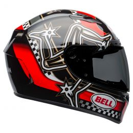 KASK BELL QUALIFIER DLX MIPS ISLE OF MAN RED/BLACK/WHITE S