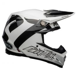 KASK BELL MOTO-9 FLEX FASTHOUSE NEWHALL WHITE/BLACK S