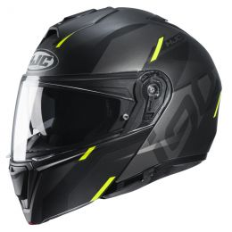 KASK HJC I90 AVENTA BLACK/YELLOW S