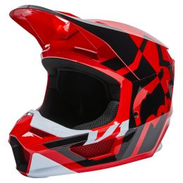 KASK FOX JUNIOR V1 LUX FLUORESCENT RED YL