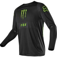 Bluza off-road Fox 360 Monster PC – czarna