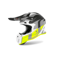 Kask off-road Airoh Terminator Open Vision Shot – żółty