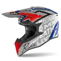 Kask off-road Airoh Wraap Street – szary