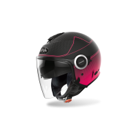 Kask otwarty Airoh Helios Map – fioletowy matowy