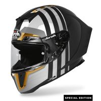 Kask integralny Airoh GP550 S Skyline Limited Gold Edition