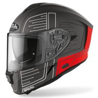 Kask integralny Airoh Spark Cyrcuit Red matowy