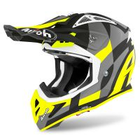 Kask off-road Airoh Aviator ACE Trick – żółty