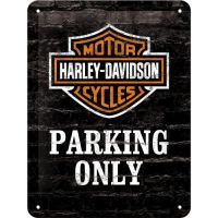 Tablica plakat 15x20 Harley Davidson Parking Only